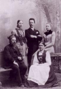 Sauerwein mit Familie Lund